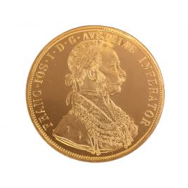 オーストリア 4ダカット金貨 フランツ・ヨーゼフ1915