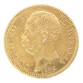 Italy 100Lire 1883 Umberto Ⅰ (1878-1900)
