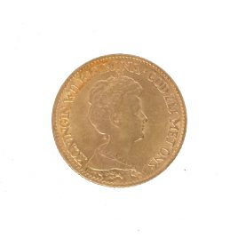 NETHERLANDS  10 GULDEN 1917 WILHELMINAⅠ 1890 – 1948