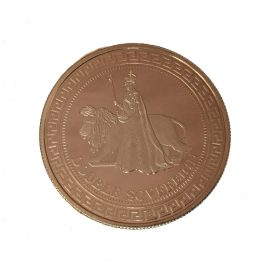 TRISTAN DA CUNHA  DOUBLE SOVEREIGN 2012 MINTAGE 1.600pes UNA AND LION