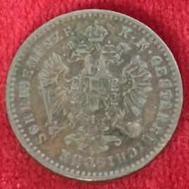 AUSTRIA 1 KREUZER 1859(V) MINT:VENICE FRANZ JOSEPH Ⅰ 1848-1916