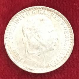 AUSTRIA 5 KREUZER 1859(M) MINT:MILAN FRANZ JOSEPH 1848-1916