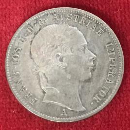 AUSTRIA 20 KREUZER 1852(A) MINT:VIENNA FRANZ JOSEPH Ⅰ 1848-1916