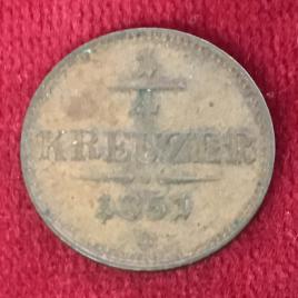 AUSTRIA 1/4 KREUZER 1859(B) MINT:KREMNITE FRANZ JOSEPH Ⅰ 1848-1916