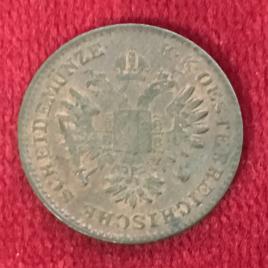 AUSTRIA 1/4 KREUZER 1851(A) MINT:VIENNA FRANZ JOSEPH Ⅰ 1848-1916