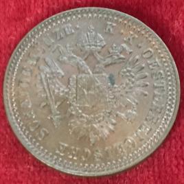 AUSTRIA 1 KREUZER 1851(A) FRANZ JOSEPH Ⅰ 1848-1916