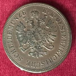 AUSTRIA 4 KREUZER 1860 MINT:KREMNIZ FRANZ JOSEPH Ⅰ 1848-1916