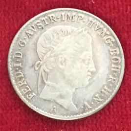 AUSTRIA 5 KREUZER 1844(A) MINT:VIENNA FERDINAND Ⅰ 1835-1848