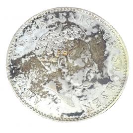 GERMANY -SAXONY  THALER 1834 G
