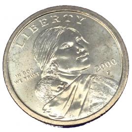 U.S.A  SACAGAWEA DOLLAR 2000 (P)