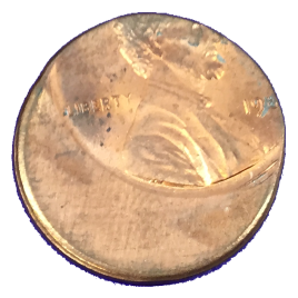 U.S.A LINCOLN 1 CENT 198- ERROR