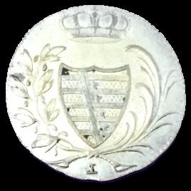 GEMANY SACHSEN COBURG – SAALFELD 3 KREUZER 1805 (L) FRANZ FRIEDIRICH ANTON 1800 – 1806