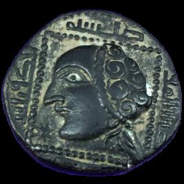 AL-JAZIRA ANATORIA ZENGIDOFMOSUL BADR AL-DIN LULUID AH631 – 657(1234 – 1259) AE DIRHAM 4.24gm Obv: HEAD LEFT SPENGLER・SAYLES 68 MITCHINER 1131 TIMWILKES 1258