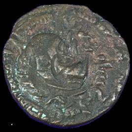AL-JAZIR ANATORIA ZENGID OF AL-JAZIRA MUiZZ AL-DIN SANJARSHAH 576 – 605AH (1180 – 1209) AE DIRHAM SPENGLER・SAYLES 86 MITCHINER 1142 TIMWILKES 1279  DOUBLE STRUCK