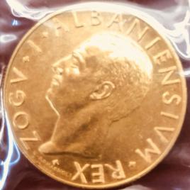 ALBANIA  100FRANGA 1928(R) PRAOVA AHMED BEY ZOG Ⅰ