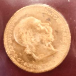 AUSTRALIA  20 CORONA 1894 MDCCCXCIV FRANZ JOSEPHI FR504 KM2806 EF