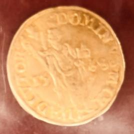 BELGIUM BRABANT  FLORIN D'OR 1568 BOURGOGNE PHILIPPE Ⅱ 1555-1576 FR71 DELM117 VF RARE