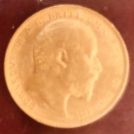 Australia  Isovereign 1905(M)  Edward Ⅶ  KM15 FR33 EF