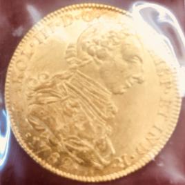 COLOMBIA  8 REALES 1782 JJNE CARLOS Ⅲ 1759-1788  FR35 KM50 EF+