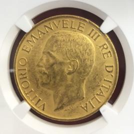 ITALY   100LIRE 1923 VITTORIO EMANUALEⅢ (1900-36) FACUST ANNIVERSARY FR30 KM65 QZEJNIBEWC PLSONIAHKW AU