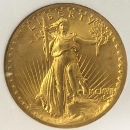 U.S.A FR182 KM126 20DOLLARS HIGH RELIEF MCMⅦ(1907)  BYGTIWSL NK021 PLSJANVAWF UNC