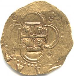 スペイン 4エスクード金貨 N.D. フェリペ2世(1556-1598)