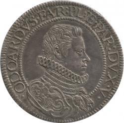 イタリア ピアチェンツァ 1スクード銀貨 1629XS オドアルド1世・ファルネーゼ(1622-1646) 極美品+