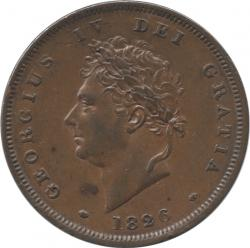 Great Britain 1Penny 1826