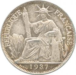 French Indo-China 20Cents 1937(A)