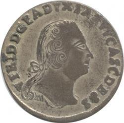 Germany Anhalt Bernburg 1/6Taler 1754