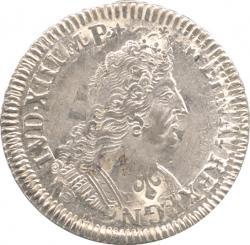 France 1/2Ecu 1693