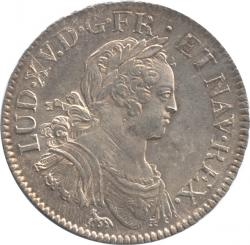 France Ecu aux 8L 1724 Louis XV