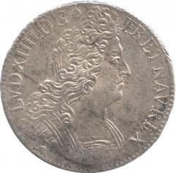 France Ecu 1706 (D) Louis XIV