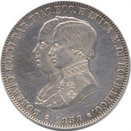 Italy Parma 5Lire 1853