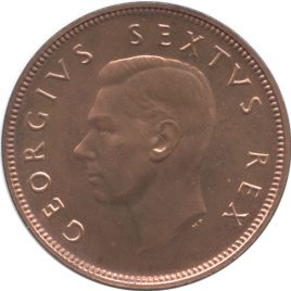 South Africa 1/2Penny