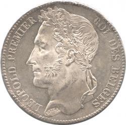 Belgium 5Francs 1832