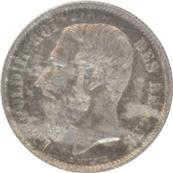 Belgium 50Centimes 1886 Leopold II Des Belges