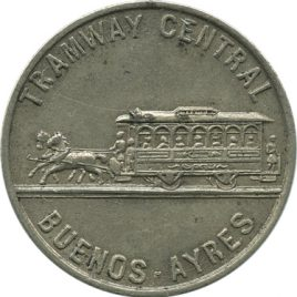 Arugentina Buenos-Ayres Railway Token